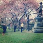 Instagram in Central Park